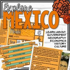 Learn about Mexico by exploring the 5 themes of Social Studies (Government, Economics, Geography, History, and Culture).In this lesson, students:Analyze how the historical context influenced the process or nature of the continuity or change that took place.Define Gross Domestic Product (GDP per capi...