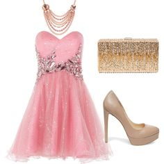 Perfect Pink/nude by yam-oba on Polyvore featuring Anoushka G, Steve Madden, Dsquared2 and Betsey Johnson