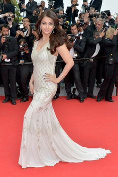 Aishwarya Rai in Roberto Cavalli, 2014 - The Most Stunning Cannes Film Festival Gowns of All Time  - Photos