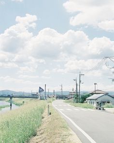 River bank by hisaya katagami, via Flickr