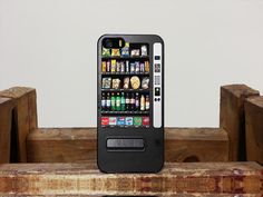 Vending Machine Snacks Samsung Galaxy note Case iPhone by PoolateGorGuy