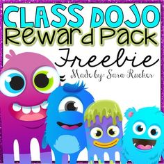 If you have never heard of Class Dojo, you definitely need to check it out NOW!https://www.classdojo.comIt is my #1 go-to for classroom management! Included in this FREEBIE:- Class Dojo Rewards Poster - BLANK Class Dojo Rewards Poster so you can add your own choice of rewards (laminate and use a dry erase marker if you want to change rewards up every once in awhile)- Class Dojo Avatars - Class Dojo Certificates/Awards to hand out weekly or monthlyUPDATED 2/28/16 - Milestone Awards have been…