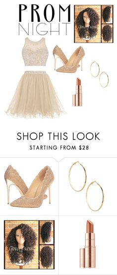 """""""Prom night for all the beautiful and strong woman in this world 🌎❤️🙏🏽"""" by lawingkennedy06 ❤ liked on Polyvore featuring JL by Judith Leiber, GUESS by Marciano and Estée Lauder"""