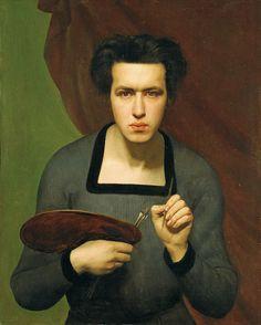 Self-Portrait, 1830 - Louis Janmot (1814-1892)