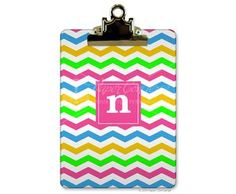 Bright & cheery teacher's gift... $29.95  Personalize with a single initial, 3 letter monogram or their name