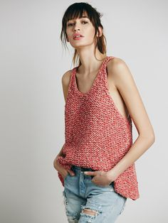 Free People Live Wire Racerback Tank,