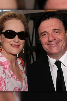 91c14a2bc4624 Hollywood s Finest Nathan Lane and Meryl Streep attend The Hamptons  International Film Festival and Academy Of