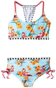 4623d423358a Appaman Kids Bora Bora Bikini Set (Toddler Little Kids Big Kids). Swimsuits  ...