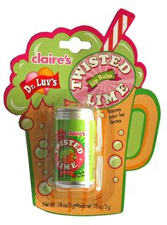 Claire's Twisted Lime lip balm | Flickr - Photo Sharing!