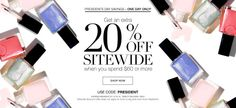 Christine's Beauty Shop - AVON: President's Day Sale - Get an Extra 20% Off
