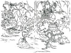 Forest Picture Coloring Page : Coloring Sky Forest Coloring Pages, Toy Story Coloring Pages, Turkey Coloring Pages, Mermaid Coloring Pages, Bear Coloring Pages, Online Coloring Pages, Halloween Coloring Pages, Coloring Pages To Print, Coloring Pages For Kids