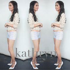 Kathryn Bernardo my idol xx ❤️ Kathryn Bernardo, Celebrity Style Inspiration, Jadine, Celebs, Celebrities, Fashion Pants, Her Style, My Idol, Style Icons