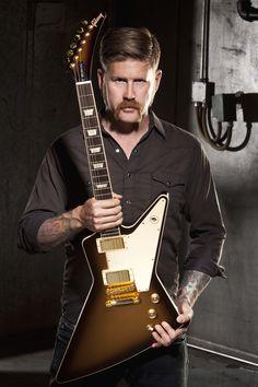 """Introducing the Bill Kelliher """"Golden Axe"""" Explorer from Gibson USA"""