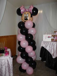 Minnie Mouse 1st Birthday Birthday Party Ideas | Photo 3 of 9 | Catch My Party