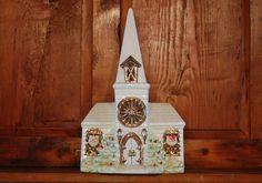Vintage Lighted Ceramic Church - SOLD! :)