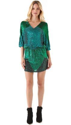 @Haute Hippie Theodora sequined dress