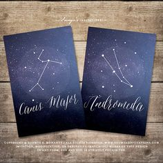 Constellation Starry Night Table Numbers, Star Celestial Galaxy Astronomy Wedding Table Numbers, Navy Blue White Table Cards 1-20 PRINTABLE by soumyasdesigns on Etsy https://www.etsy.com/listing/562220933/constellation-starry-night-table-numbers