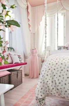 A dreamy pink retreat