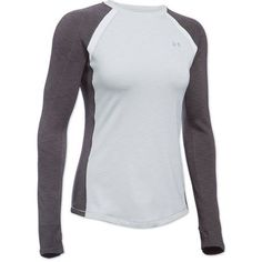 $49.95 [Large, Gray (or blue)] Under Armour Coldgear Armour Crew