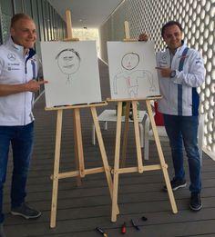 Bottas and Felipe