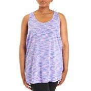 Plus Size Space-Dyed Active Tank Top