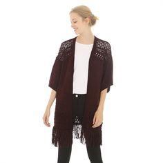 Pimkie.es : Delicados y femeninos, nos apasionan los detalles de esta chaqueta larga al estilo de los años setenta.
