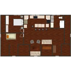 Garage Apartment Floor Plans, Garage Apartments, Interior Design Inspiration, App Design, Interior Decorating, House Design, Flooring, Home, Ad Home