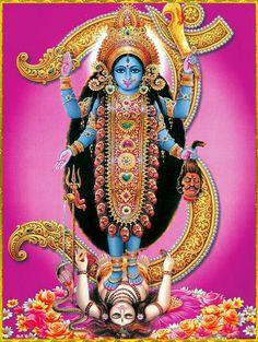 Kali Ma and Shiva