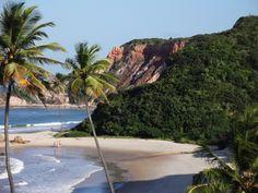 Conheça as Belezas Naturais da Praia de Tabatinga na Paraíba - Belezas Naturais