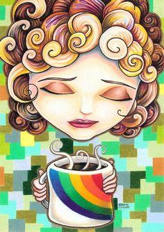 by Bryan Collins...    Café el primer arcoiris