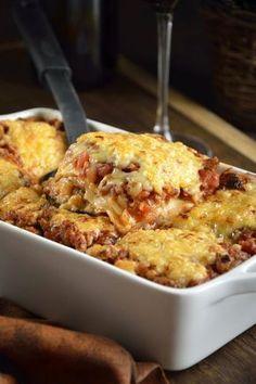 Pasta Recipes, Cooking Recipes, Healthy Recipes, I Love Food, Good Food, Lasagne Bolognese, Pasta Casera, Great Recipes, Favorite Recipes