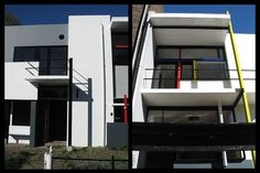 PLACES: Schröder House: in Utrecht, De Stijl meets design and architecture | Schröder House: straight lines and orthogonal planes. Proof and confirmation that this is a special place, goes in the fact that Schröder House was declared a UNESCO World Heritage Site. This house is not to be missed.