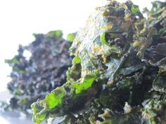 Comforting Kale Chips Kale Chips, Cabbage, Fruit, Vegetables, Winter, Winter Time, Cabbages, Vegetable Recipes, Brussels Sprouts