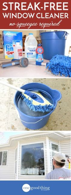 Homemade Squeegee Cleaning Tips Outdoor Living And Homemade
