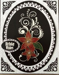 Honey Doo Crafts Acrylic Stamps - Sample Gallery Honey Doo Crafts, Birthday Wishes, Birthday Cards, Card Designs, Flower Cards, Flourish, Making Ideas, Baroque, Stamps