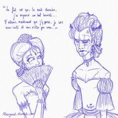 Et pendant ce temps, dans un monde parallèle… (ce dialogue entre Archibald et Thorn est mon passage favori du tome 2, je n'ai pas pu résister) Mais… mais… mais c'est hilarant x'D ! Merci pour cette très belle surprise mourgaud ♥ Je vais avoir un... Fan Art, Book Lists, Memes, Book Lovers, Book Art, Anime, Nerd, Fandoms, Romans