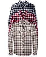 Sean John Shirt, Herringbone Check Shirt