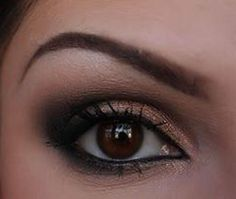 Nice and soft smoky eyes, just love how soft this looks but still has a very sexy appeal to it!