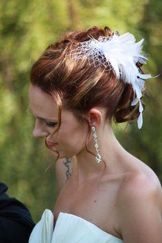 Bridal Hair minus hair piece