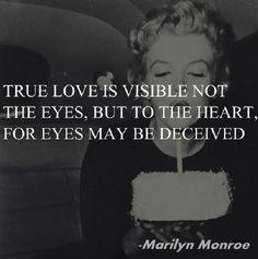 True Love Marilyn Monroe Quote