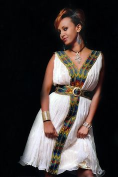 Ethiopian fashion dressEthiopian clothing | Eritrean clothes | Habesha dresses