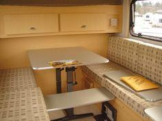 '06 Teardrop Camper interior