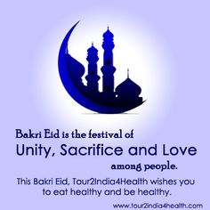 Happy Bakri Eid to all from www.tour2india4health.com