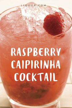 We'll take two (or three) of this tasty sweet #raspberry #cocktail