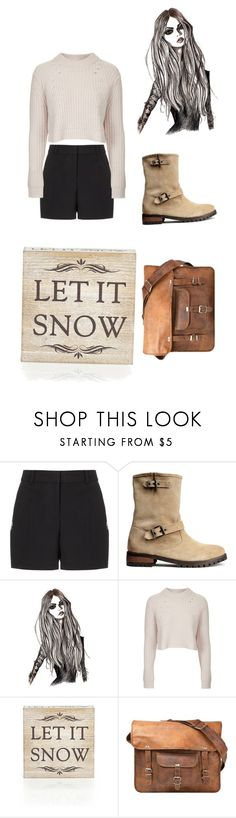 """""""Let it snow"""" by m-gorodetskaya ❤ liked on Polyvore featuring Alexander Wang, H&M, Topshop, Wildwood and CO"""