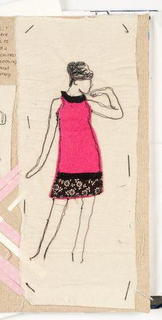 textile fashion illustration
