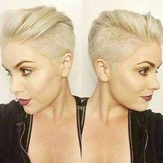 Ben jij blond? Bekijk dan deze zeer trendy blonde korte kapsels!