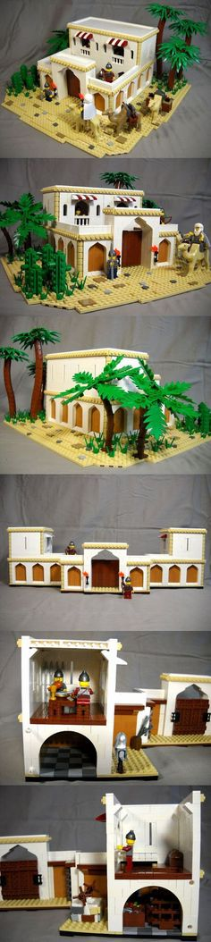 Lego Desert Outpost. This is absolutely magnificent!