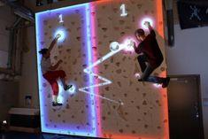 Llegan los videojuegos en realidad aumentada sobre paredes verticales