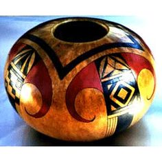 Free Video Tutorial Sign-up Page - 2013 Decorative Gourds, Hand Painted Gourds, How To Dry Gourds, Rum, American Indian Art, Wood Creations, Indigenous Art, Gourd Art, Native Art